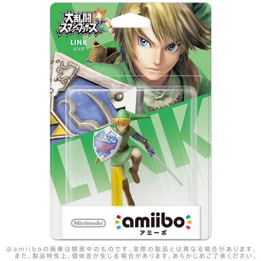 Nintendo amiibo LINK Super Smash Bros. 3DS Wii U Game Accesary NEW from Japan_2