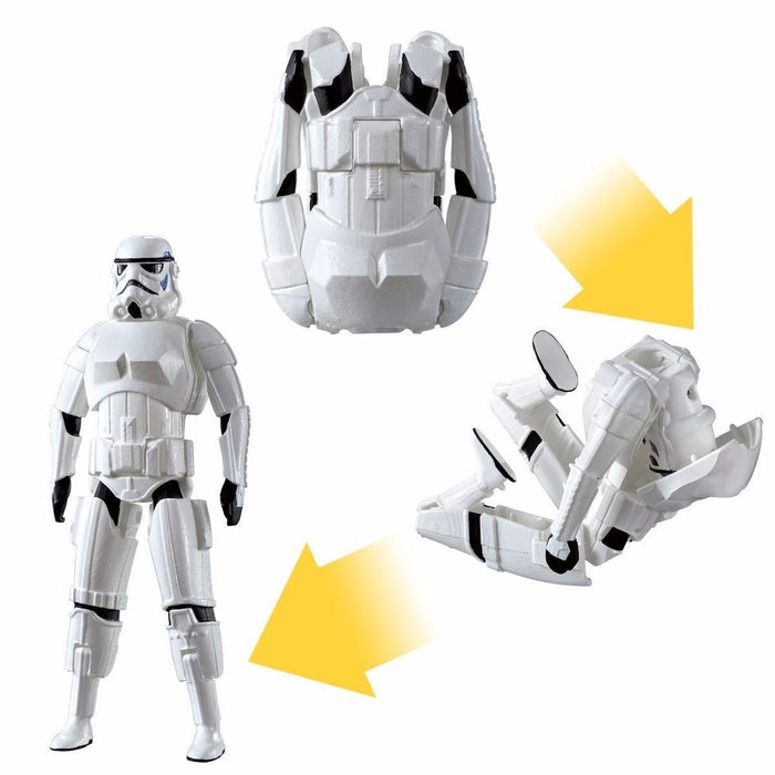 EGG FORCE STAR WARS STORM TROOPER Action Figure BANDAI from Japan_3