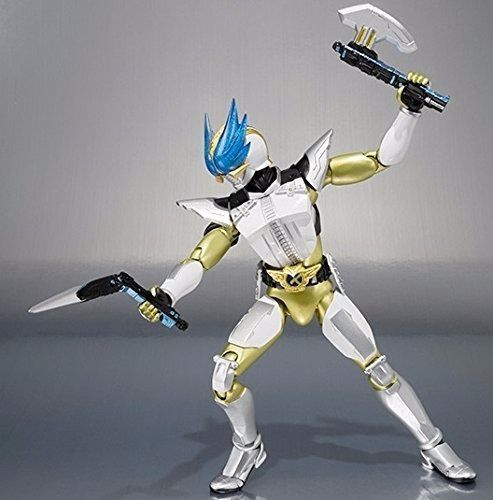 S.H.Figuarts Masked Kamen Rider DEN-O WING FORM Action Figure BANDAI from Japan_4