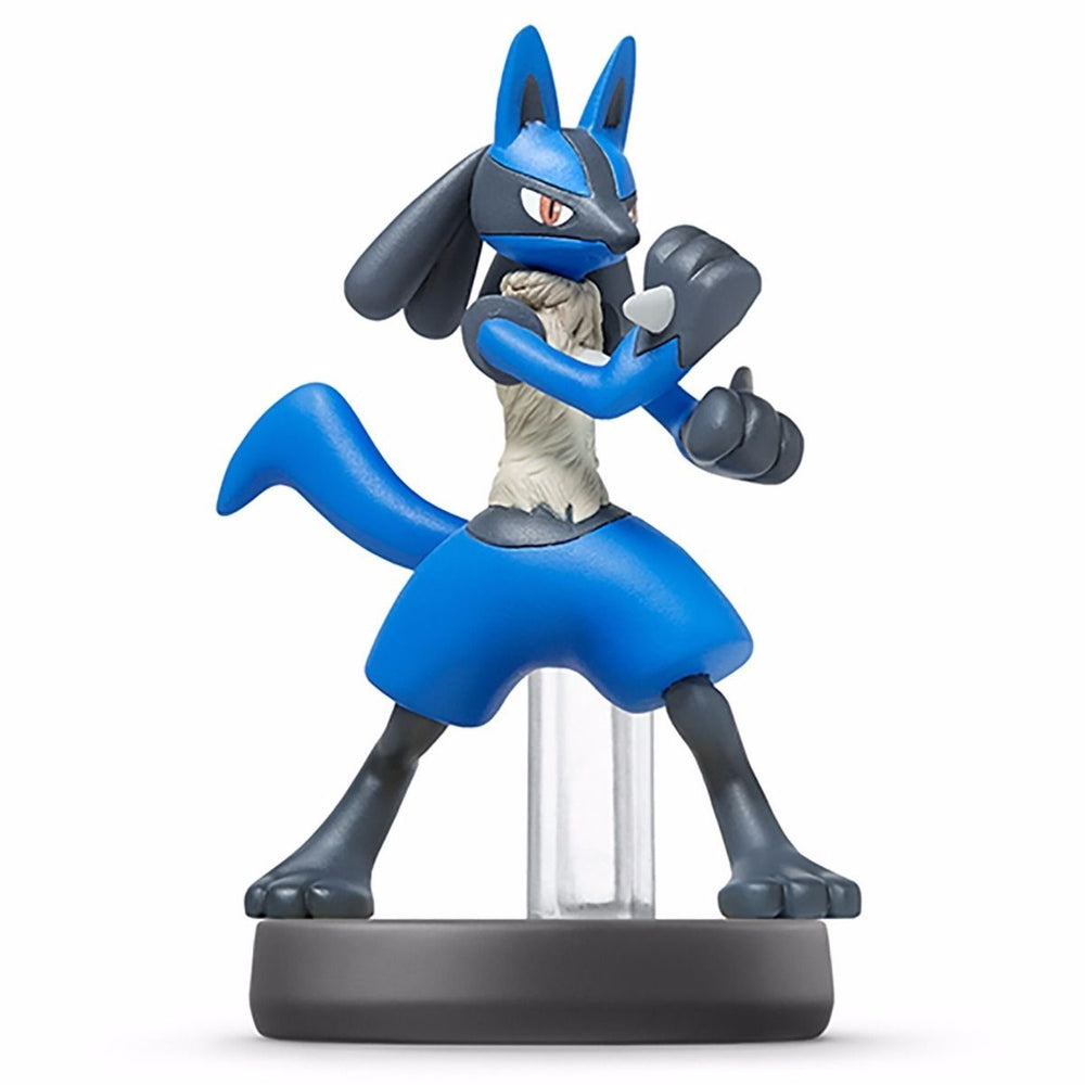 Nintendo amiibo LUCARIO Super Smash Bros. 3DS Wii U Accessories NEW from Japan_1