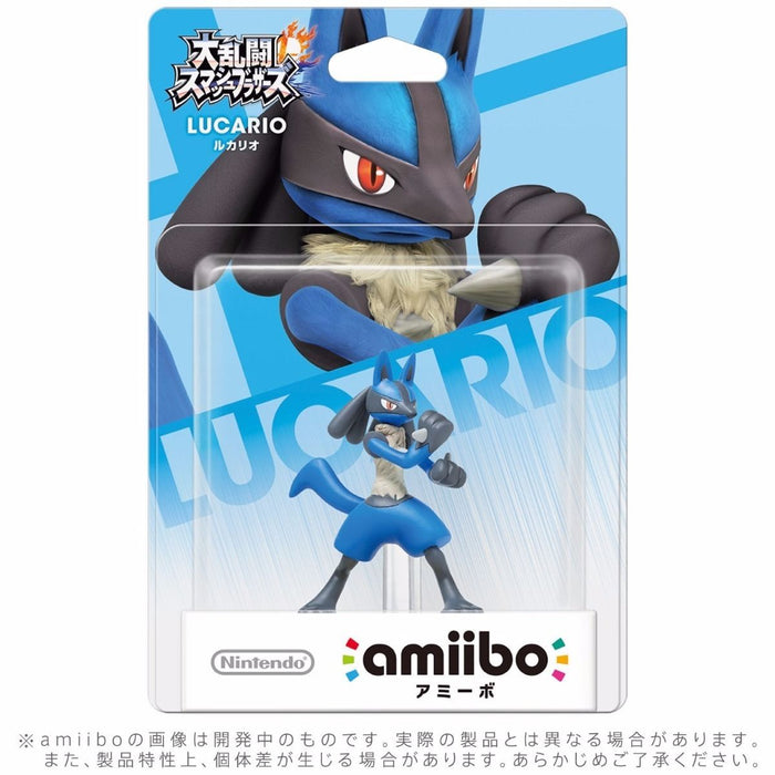 Nintendo amiibo LUCARIO Super Smash Bros. 3DS Wii U Accessories NEW from Japan_2