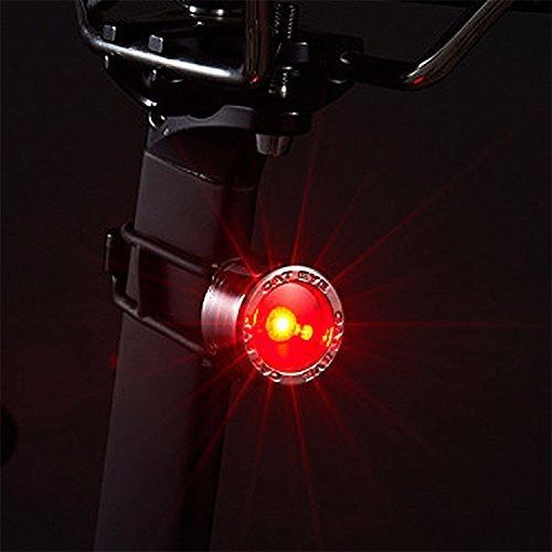 CATEYE SL-LD135-R Nima 2 Bicycle Rear Safety Light Chrome Red from Japan_2