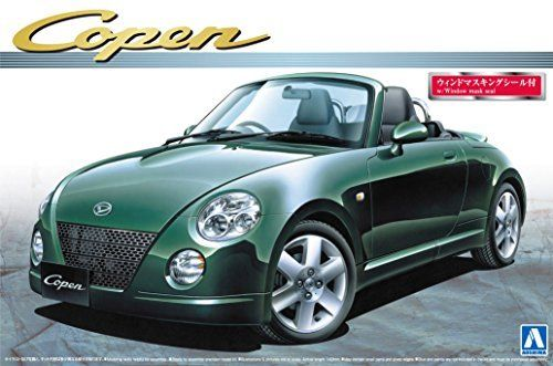 Aoshima The Best Car GT DAIHATSU Copen Active Top Plastic Model Kit from Japan_1