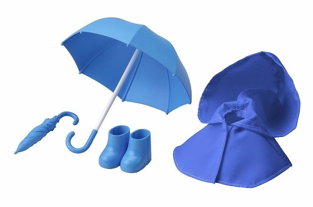 Cu-poche Extra 03b Rainy Day's Set (Blue) Figure Kotobukiya NEW from Japan_1