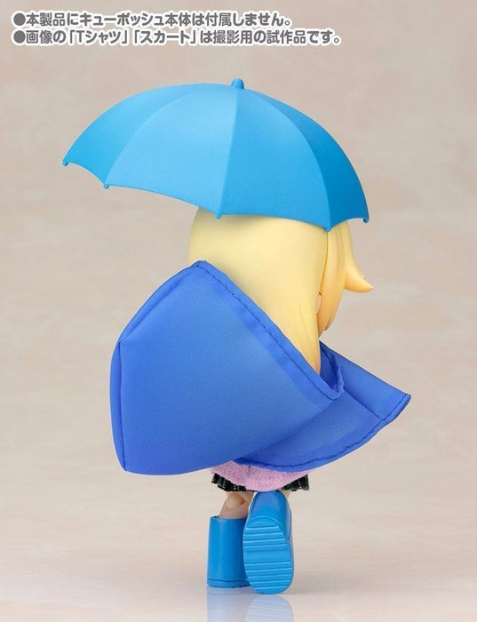 Cu-poche Extra 03b Rainy Day's Set (Blue) Figure Kotobukiya NEW from Japan_6