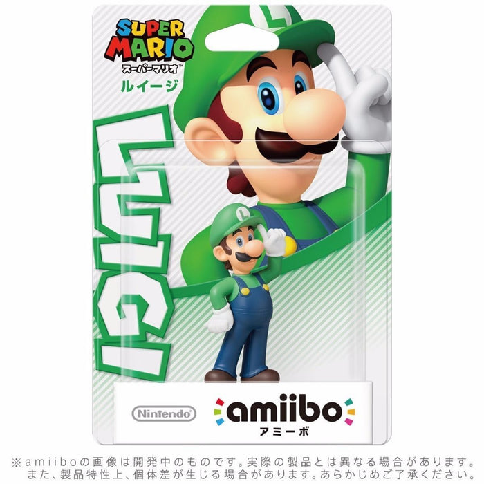 Nintendo amiibo LUIGI Super Mario Bros. 3DS Wii U Accessories NEW from Japan_2