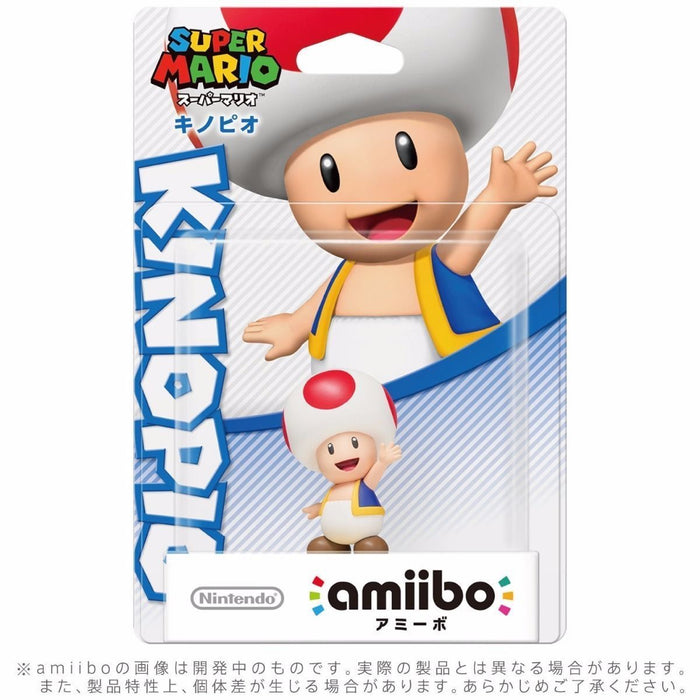 Nintendo amiibo TOAD (KINOPIO) Super Mario Bros. 3DS Wii U Accessories NEW Japan_2