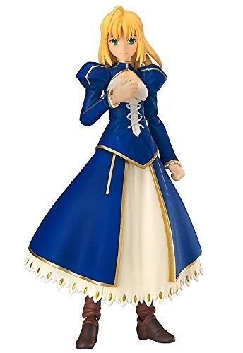 figma EX-025 Fate/stay night Unlimited Blade Works Saber Dress ver. Figure Japan_1