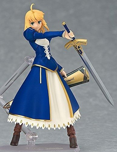 figma EX-025 Fate/stay night Unlimited Blade Works Saber Dress ver. Figure Japan_2