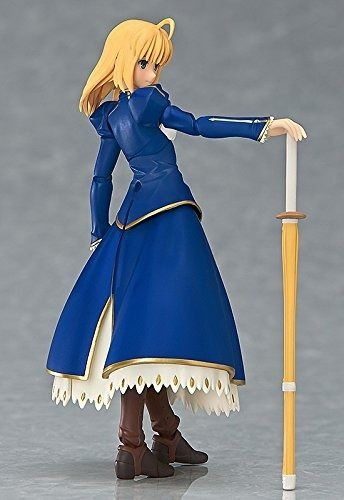 figma EX-025 Fate/stay night Unlimited Blade Works Saber Dress ver. Figure Japan_4