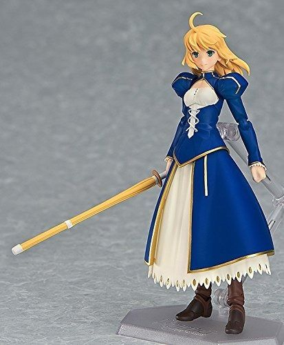 figma EX-025 Fate/stay night Unlimited Blade Works Saber Dress ver. Figure Japan_5