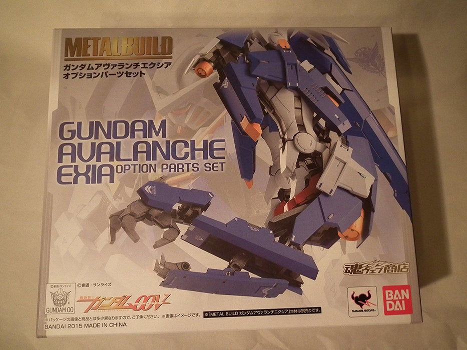 METAL BUILD Gundam 00V GUNDAM AVALANCHE EXIA OPTION PARTS Set BANDAI from Japan_1