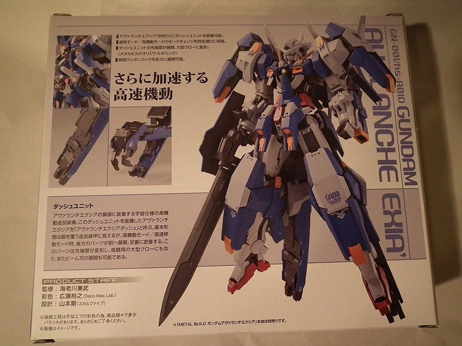 METAL BUILD Gundam 00V GUNDAM AVALANCHE EXIA OPTION PARTS Set BANDAI from Japan_2