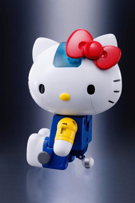 CHOGOKIN HELLO KITTY BLUE Ver Action Figure BANDAI TAMASHII NATIONS from Japan_8