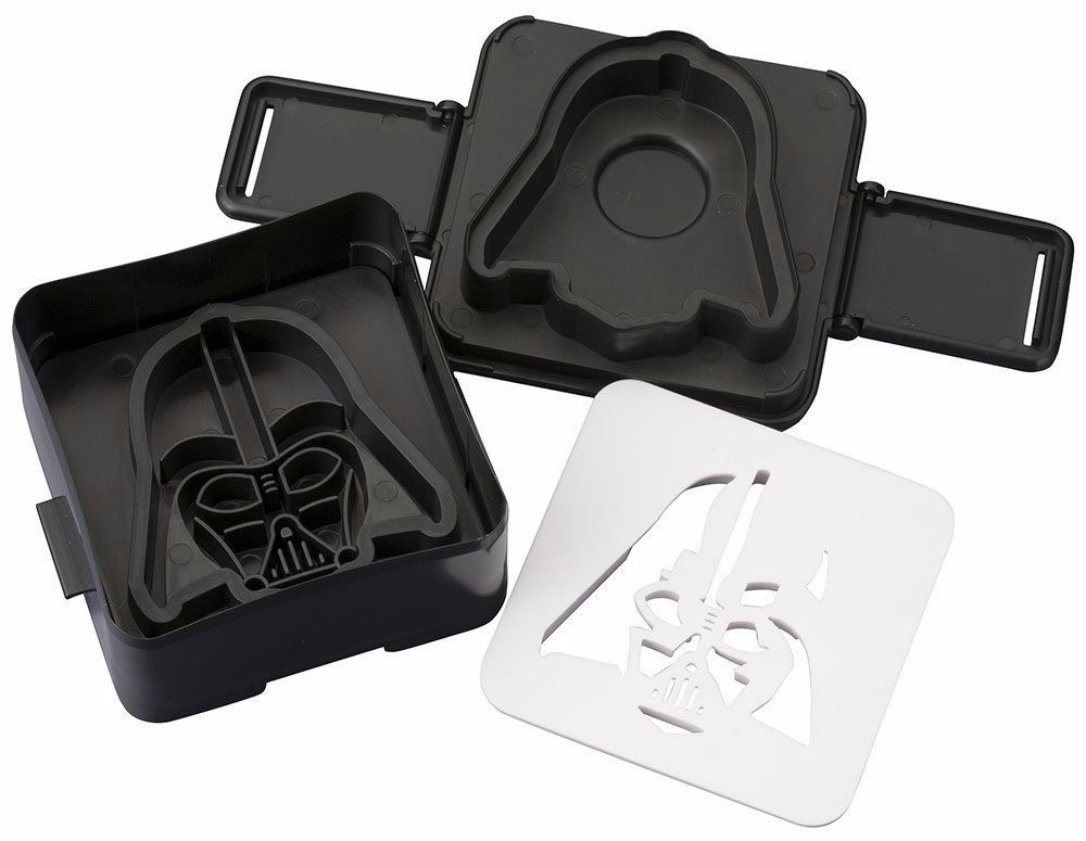 STAR WARS Pouch Sandwich Shaper DARTH VADER Cook Ware KOTOBUKIYA from Japan_1