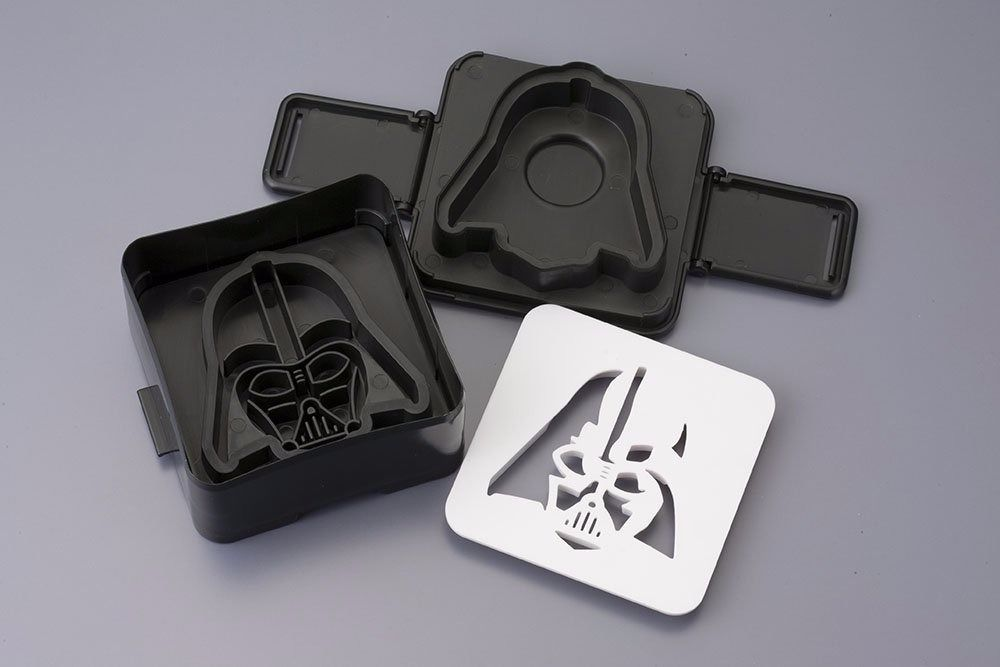 STAR WARS Pouch Sandwich Shaper DARTH VADER Cook Ware KOTOBUKIYA from Japan_2