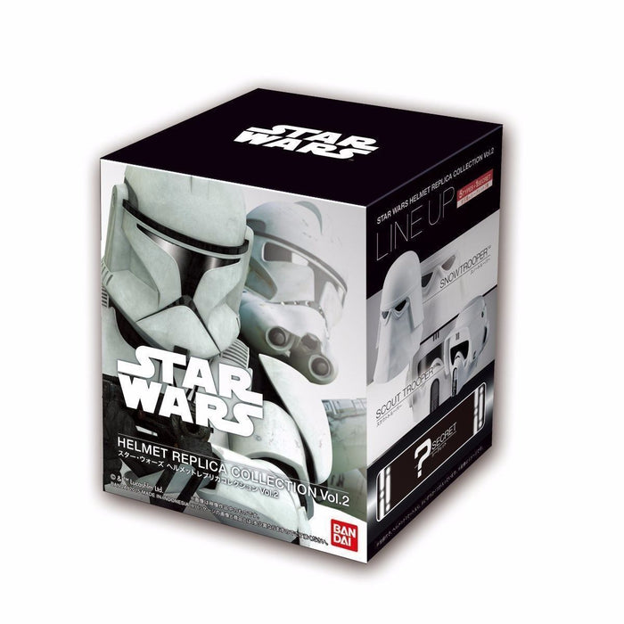 STAR WARS HELMET REPLICA COLLECTION Vol.2 6 PACKS BOX Figure BANDAI from Japan_7