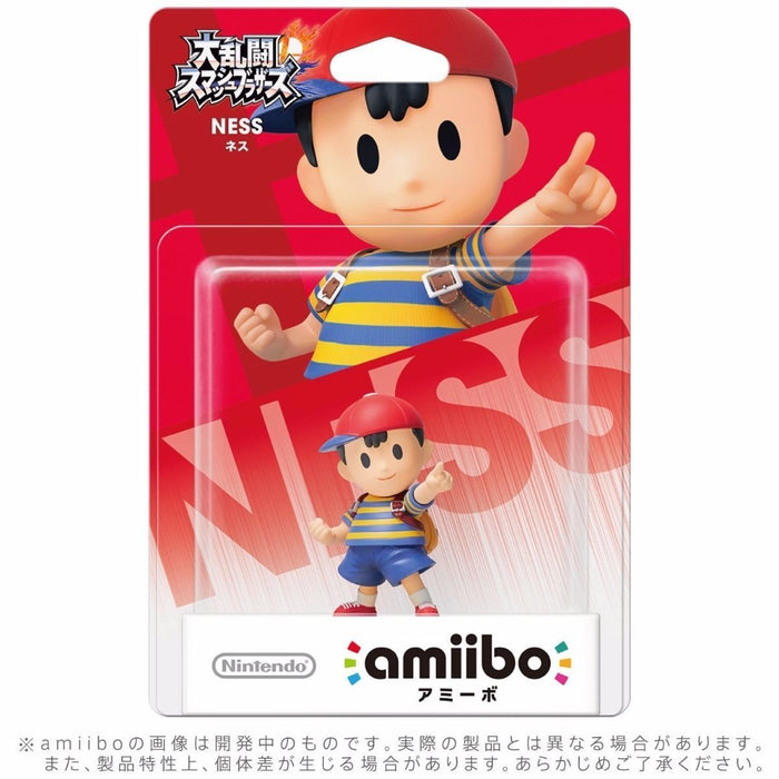 Nintendo amiibo NESS Super Smash Bros. 3DS Wii U Game Accessories NEW from Japan_2