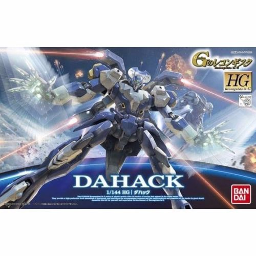 BANDAI HG 1/144 DAHACK MODEL KIT Reconguista In G from Japan_1