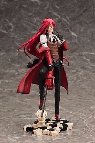 Black Butler Book of Circus Grell Sutcliff 1/8th PVC Figure KOTOBUKIYA NEW_2
