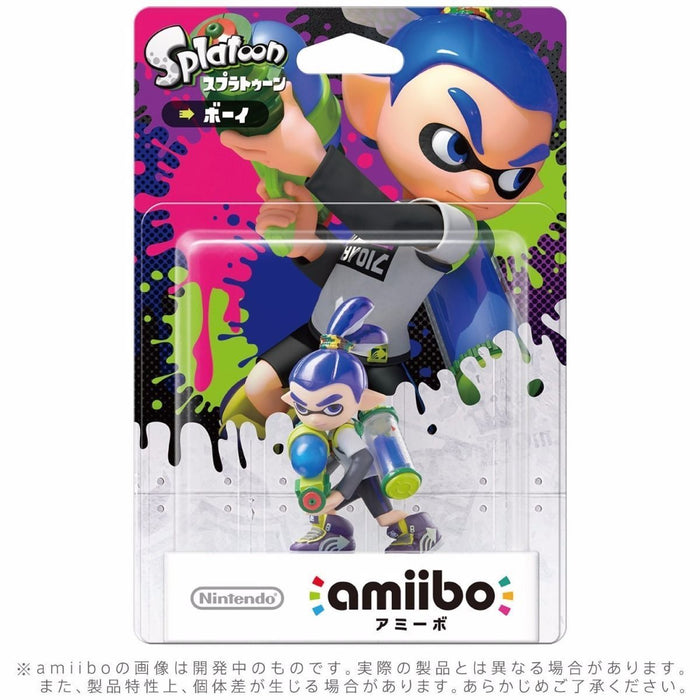 Nintendo amiibo Inkling BOY Splatoon 3DS Wii U Game Accessories NEW from Japan_2