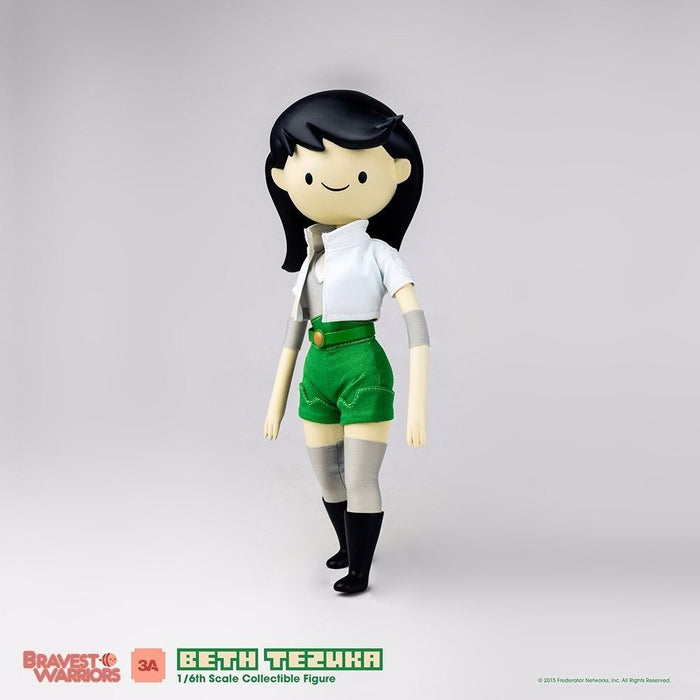 BRAVEST WARRIORS BETH TEZUKA 1/6 Scale Articulated Figure threeA NEW from Japan_2