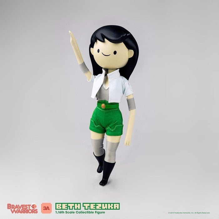 BRAVEST WARRIORS BETH TEZUKA 1/6 Scale Articulated Figure threeA NEW from Japan_4