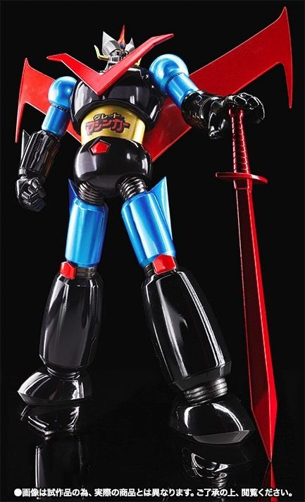 Super Robot Chogokin GREAT MAZINGER JUMBO MACHINEDER COLOR Action Figure BANDAI_1