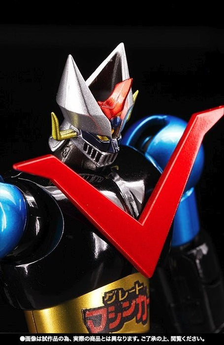 Super Robot Chogokin GREAT MAZINGER JUMBO MACHINEDER COLOR Action Figure BANDAI_4