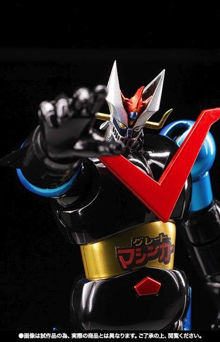 Super Robot Chogokin GREAT MAZINGER JUMBO MACHINEDER COLOR Action Figure BANDAI_5