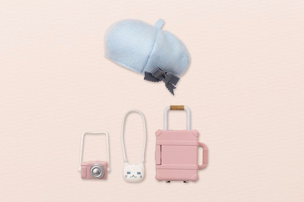 Cu-poche Extra 04b Travel Set (Baby Pink) Set Figure Kotobukiya NEW from Japan_9