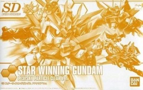 BANDAI SDBF STAR WINNING GUNDAM PP CLEAR Ver Model Kit Gundam Build Fighters Try_1