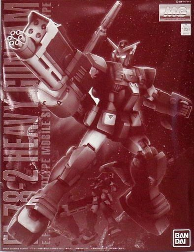 BANDAI MG 1/100 FA-78-2 HEAVY GUNDAM Plastic Model Kit Gundam MSV NEW from Japan_1