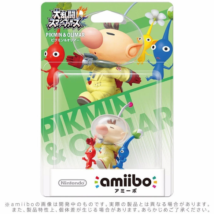 Nintendo amiibo PIKMIN & OLIMAR Super Smash Bros. 3DS Wii U Game Accessories NEW_2