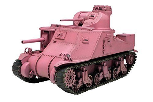 TAMIYA PLATZ 1/35 Girls und Panzer M3 LEE TEAM Usagisan Pink Ver Model Kit NEW_1