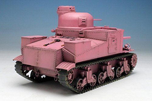 TAMIYA PLATZ 1/35 Girls und Panzer M3 LEE TEAM Usagisan Pink Ver Model Kit NEW_2