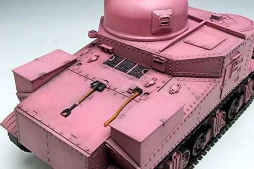 TAMIYA PLATZ 1/35 Girls und Panzer M3 LEE TEAM Usagisan Pink Ver Model Kit NEW_5