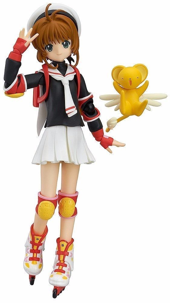 figma 265 Sakura Kinomoto School Uniform ver. Figure Max Factory NEW from Japan_1