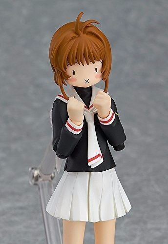 figma 265 Sakura Kinomoto School Uniform ver. Figure Max Factory NEW from Japan_5