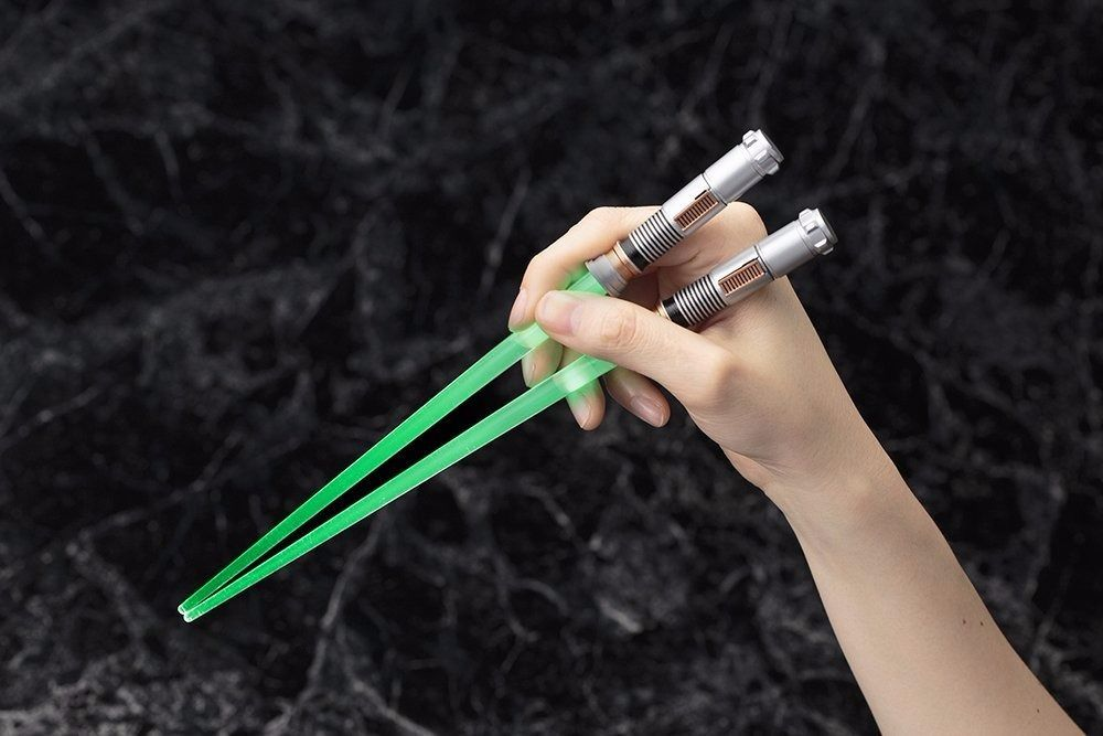 KOTOBUKIYA LIGHTSABER CHOPSTICKS LUKE SKYWALKER EP6 Light Up Ver STAR WARS Japan_3