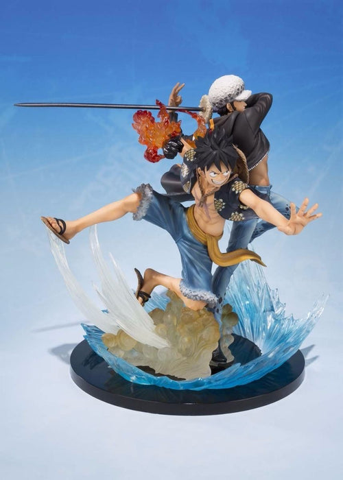 Figuarts ZERO MONKEY D LUFFY & TRAFALGAR LAW 5TH Anniversary Edition PVC BANDAI_3