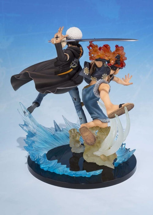 Figuarts ZERO MONKEY D LUFFY & TRAFALGAR LAW 5TH Anniversary Edition PVC BANDAI_5