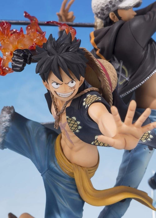 Figuarts ZERO MONKEY D LUFFY & TRAFALGAR LAW 5TH Anniversary Edition PVC BANDAI_6