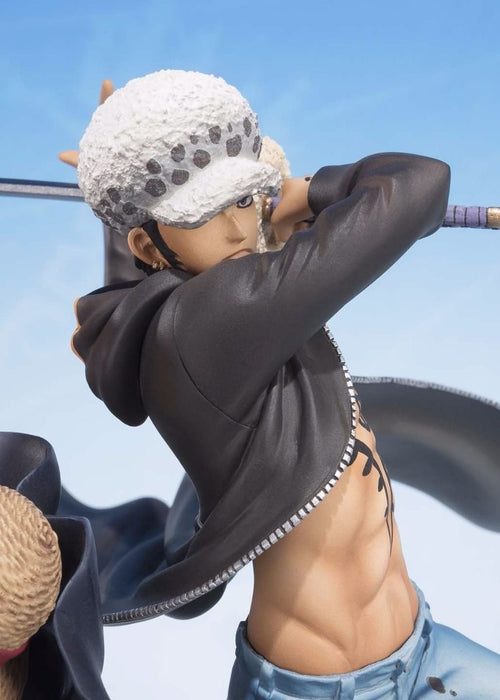 Figuarts ZERO MONKEY D LUFFY & TRAFALGAR LAW 5TH Anniversary Edition PVC BANDAI_7