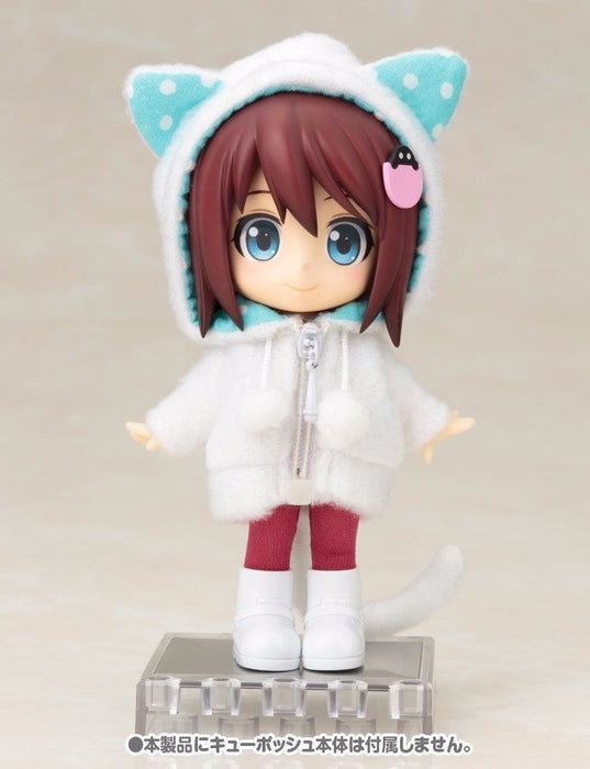 Cu-poche Extra 05w Animal Parka Set (White Cat) Figure Accessories Kotobukiya_4