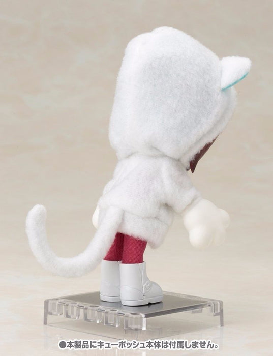 Cu-poche Extra 05w Animal Parka Set (White Cat) Figure Accessories Kotobukiya_7