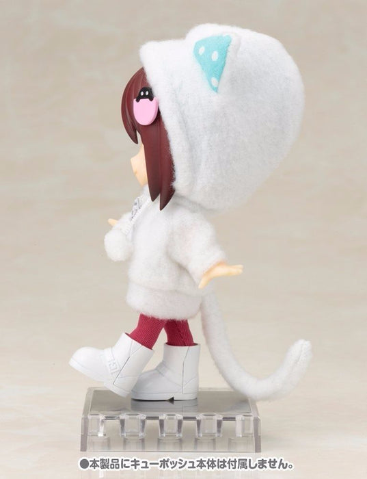 Cu-poche Extra 05w Animal Parka Set (White Cat) Figure Accessories Kotobukiya_8