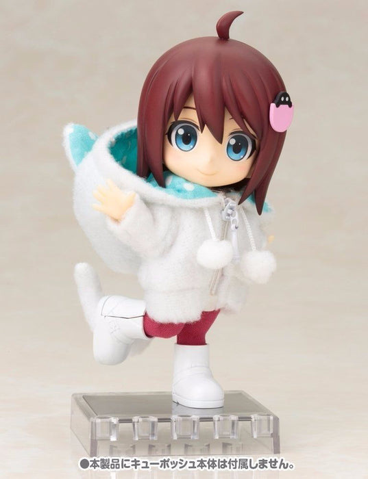 Cu-poche Extra 05w Animal Parka Set (White Cat) Figure Accessories Kotobukiya_9