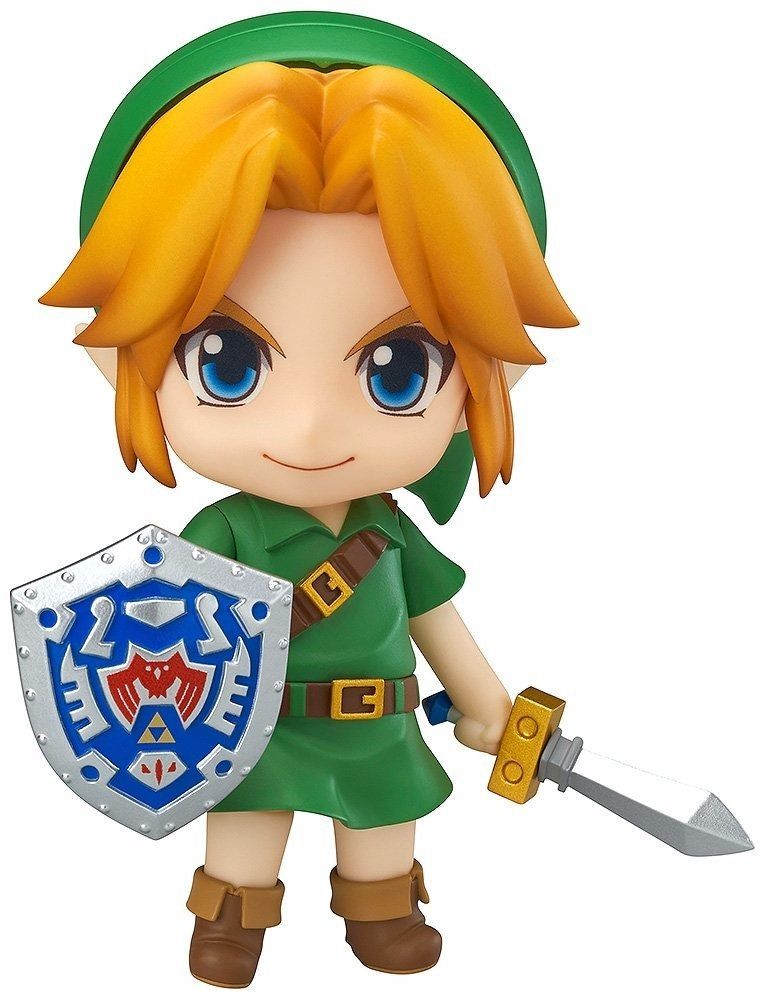 Nendoroid 553 The Legend of Zelda Link Majora's Mask 3D Ver. Figure from Japan_1