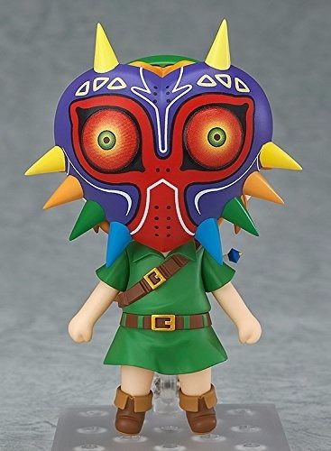 Nendoroid 553 The Legend of Zelda Link Majora's Mask 3D Ver. Figure from Japan_5